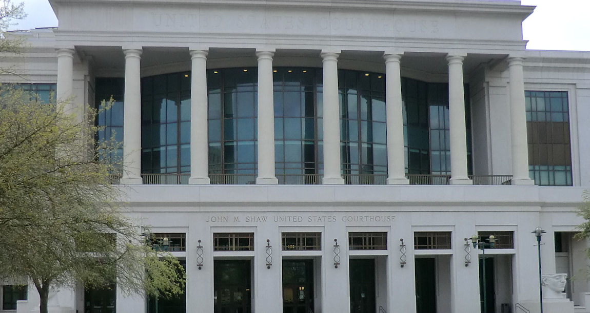 Federal Courthouse in Lafayette, Louisiana